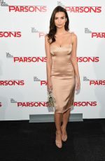 EMILY RATAJKOESKI at 2015 Parsons Fashion Benefit in New York