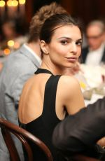 EMILY RATAJKOWSKI at New York Edition and W Art Premiere in New York