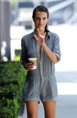 EMILY RATAJKOWSKI Out and About in Los Angeles 05/29/2015