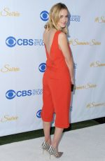EMILY WICKERSHAM at 2015 CBS Summer Soiree in West Hollywood