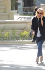 EMMA BUNTON Out and About in London 05/27/2015