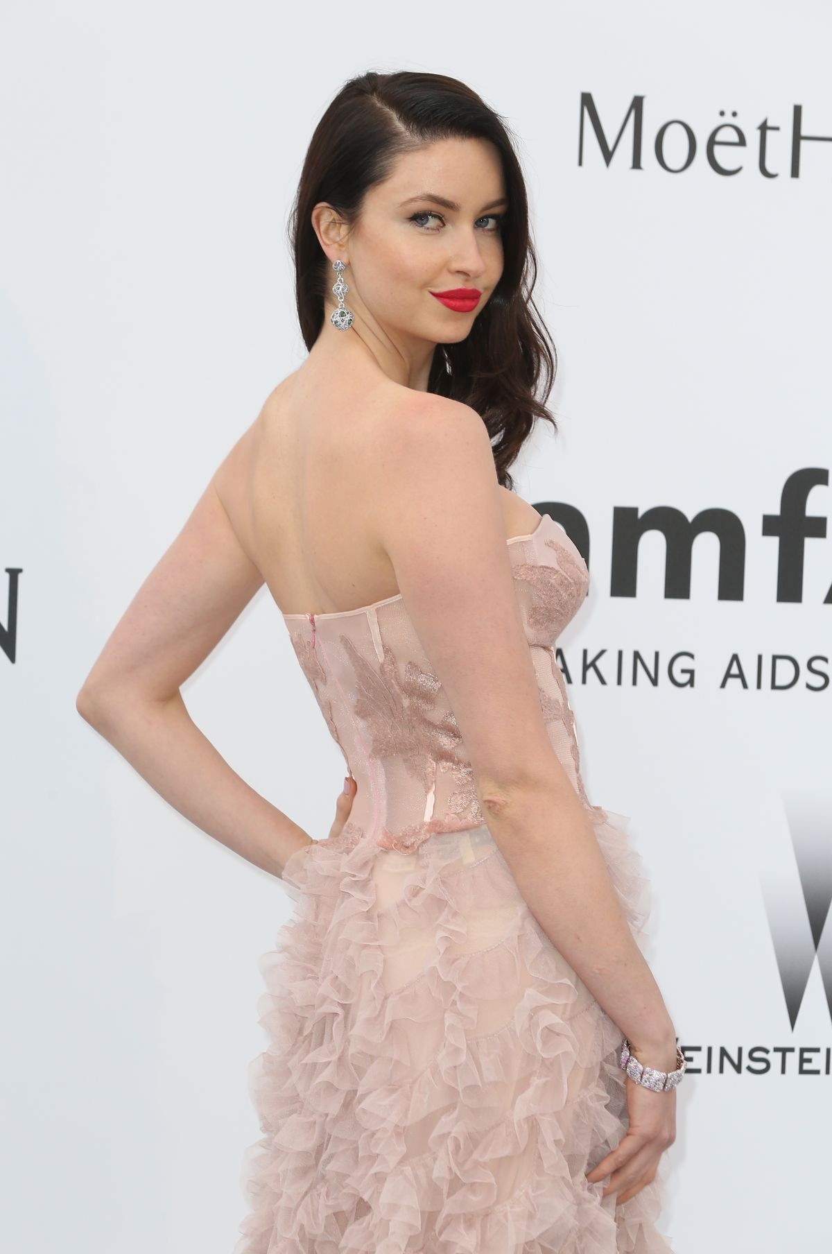EMMA MILLER at Amfar's 2015 Cinema Against Aids Gala in Cap d'Antibes