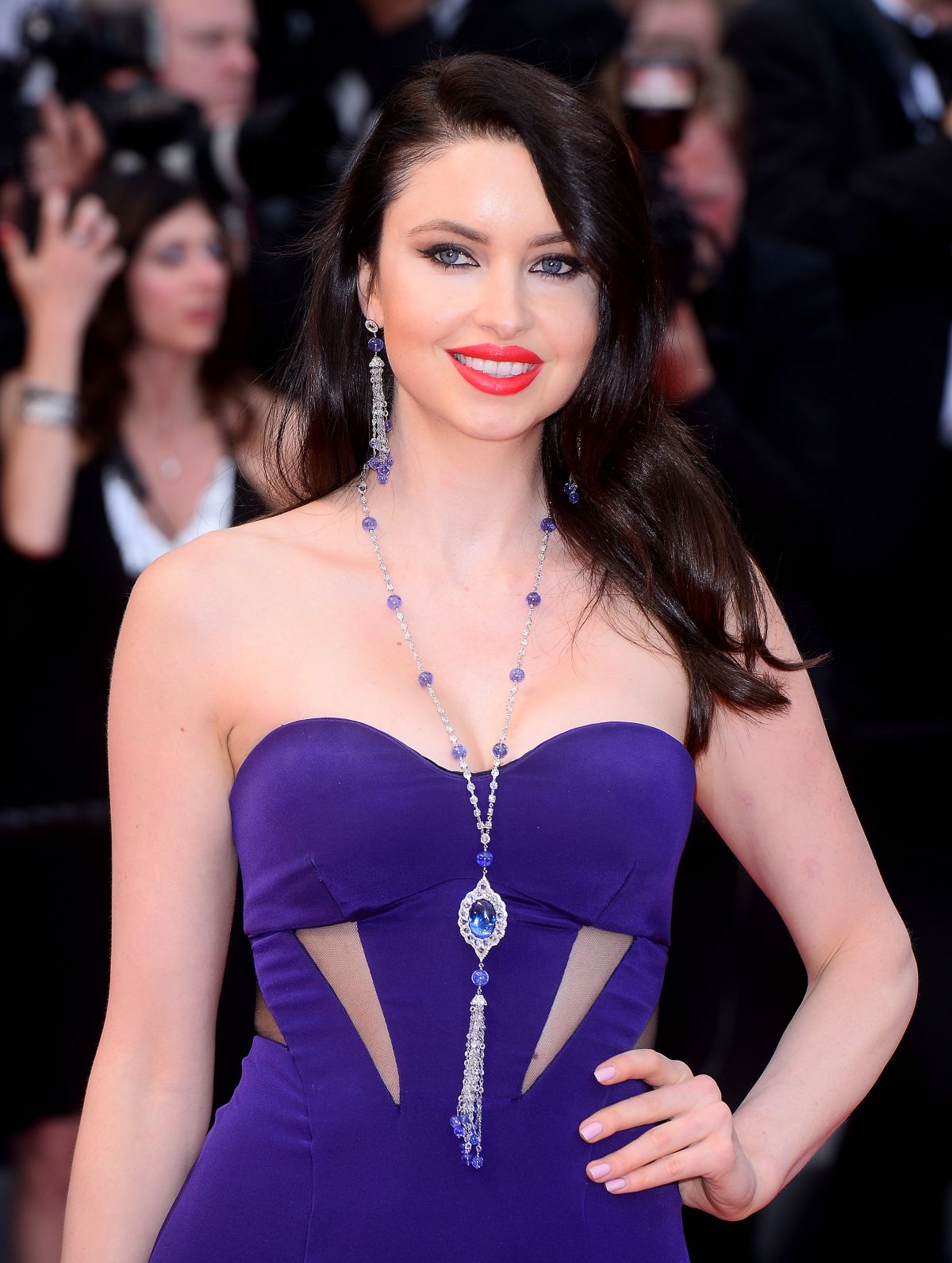 EMMA MILLER at Macgeth Premiere at Cannes Film Festival