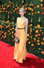 EMMA ROBERTS at 2015 Veuve Clicquot Polo Classic in New Jersey