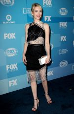 EMMA ROBERTS at Fox Network 2015 Programming Upfront in New York