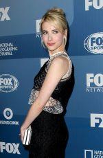 EMMA ROBERTS at Fox Network 2015 Programming Upfront in New York
