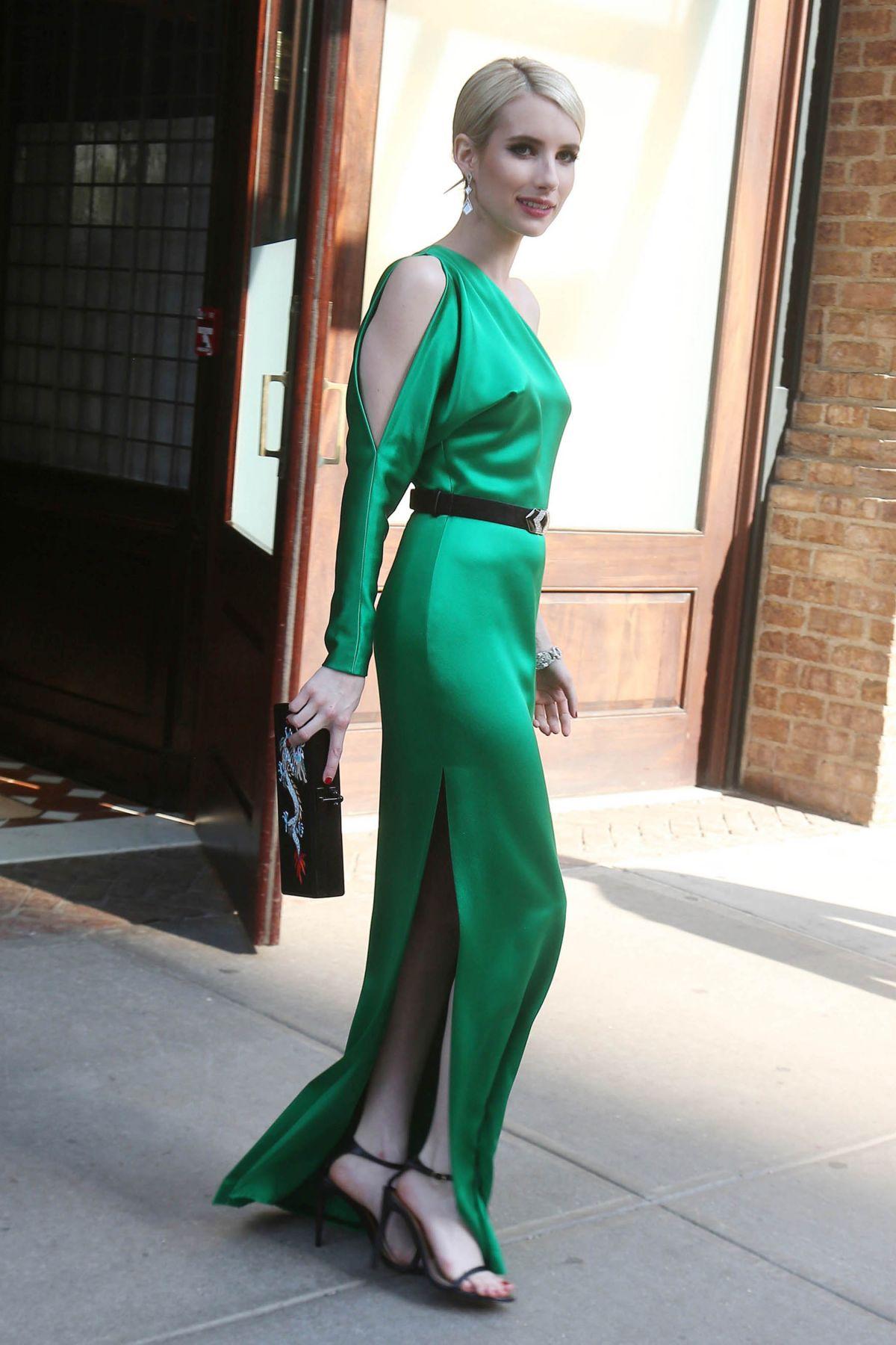 Emma Roberts At Met Gala 2015 In New York Hawtcelebs