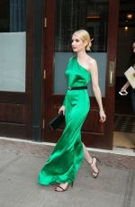 EMMA ROBERTS Leaves Her Hotel in New York 05/04/2015
