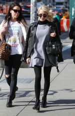 EMMA ROBERTS Out and About in New York 04/30/2015