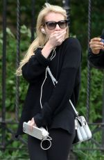 EMMA ROBERTS Out and About in New York 05/20/2015