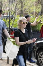 EMMA ROBERTS Out Shopping in New York 05/05/2015