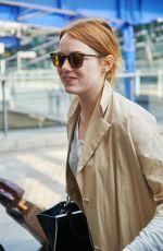 EMMA STONE Arrives at Heathrow Airport 05/16/2015