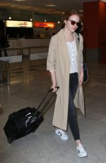 EMMA STONE at Airport in Nice 05/16/2015
