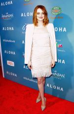 EMMA STONE at Aloha Screening in West Hollywood