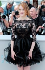 EMMA STONE at Irrational Man Photocall in Cannes