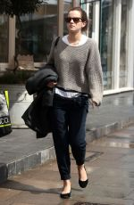 EMMA WATSON Out and About in London 05/19/2015