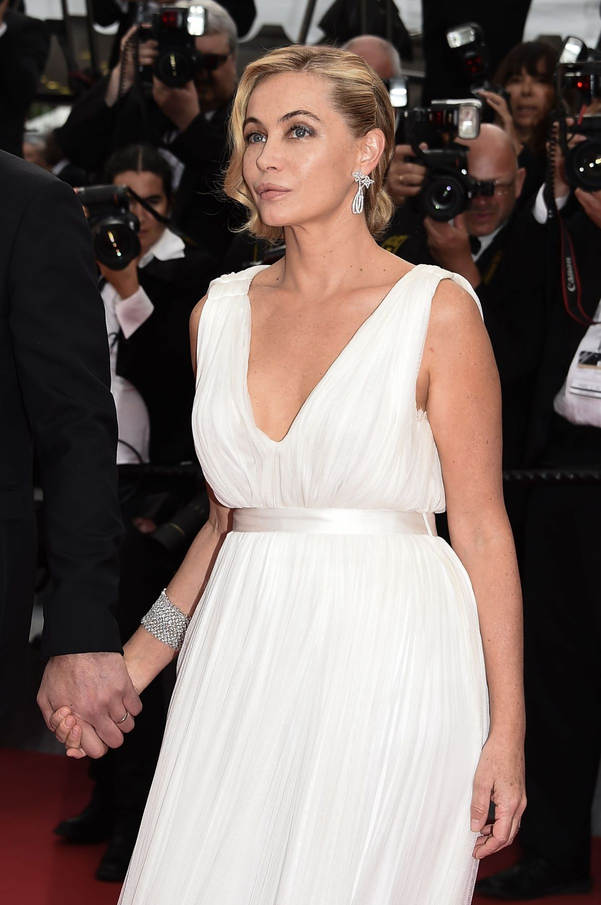 EMMANUELLE BEART at Irrationnal Man Premiere at Cannes Film Festival