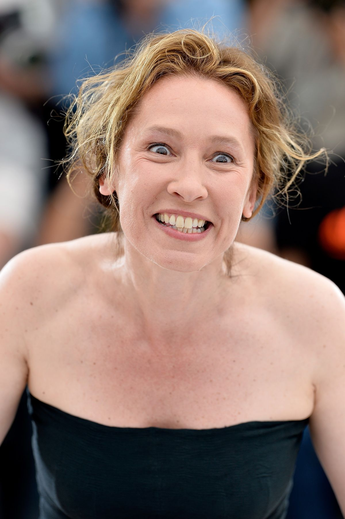 EMMANUELLE BERCOT at La Tete Haute Photocall at 2015 Cannes Film Festival