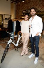 EMMANUELLE CHRIQUI at Rag & Bone Sole Bicycle Event in Venice