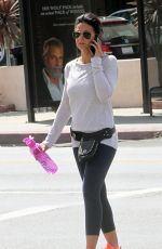 EMMANUELLE CHRIQUI Heading to a Gym in Hollywood 04/30/2015