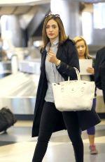 EMMY ROSSUM at Los Angeles International Airport 05/21/2015