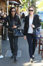 EMMY ROSSUM Out and About in Beverly Hills 05/09/2015