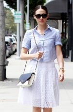 EMMY ROSSUM Out and About in Beverly Hills 05/13/2015
