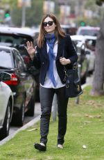 EMMY ROSSUM Out and About in Los Angeles 05/08/2015