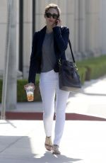 EMMY ROSSUM Out and About in West Hollywood 05/03/2015