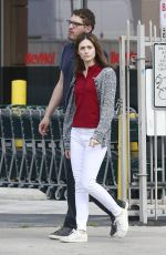 EMMY ROSSUM Out and About in West Hollywood 05/23/2015