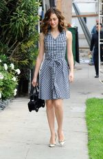 EMMY ROSSUM Out and About in West Hollywood 05/27/2015