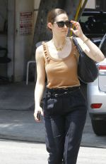 EMMY ROSSUM Out and About in West Hollywood 05/29/2015