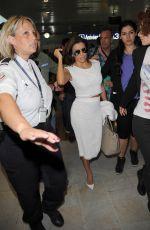 EVA LONGORIA Arrives at Nice Airport 05/14/2015
