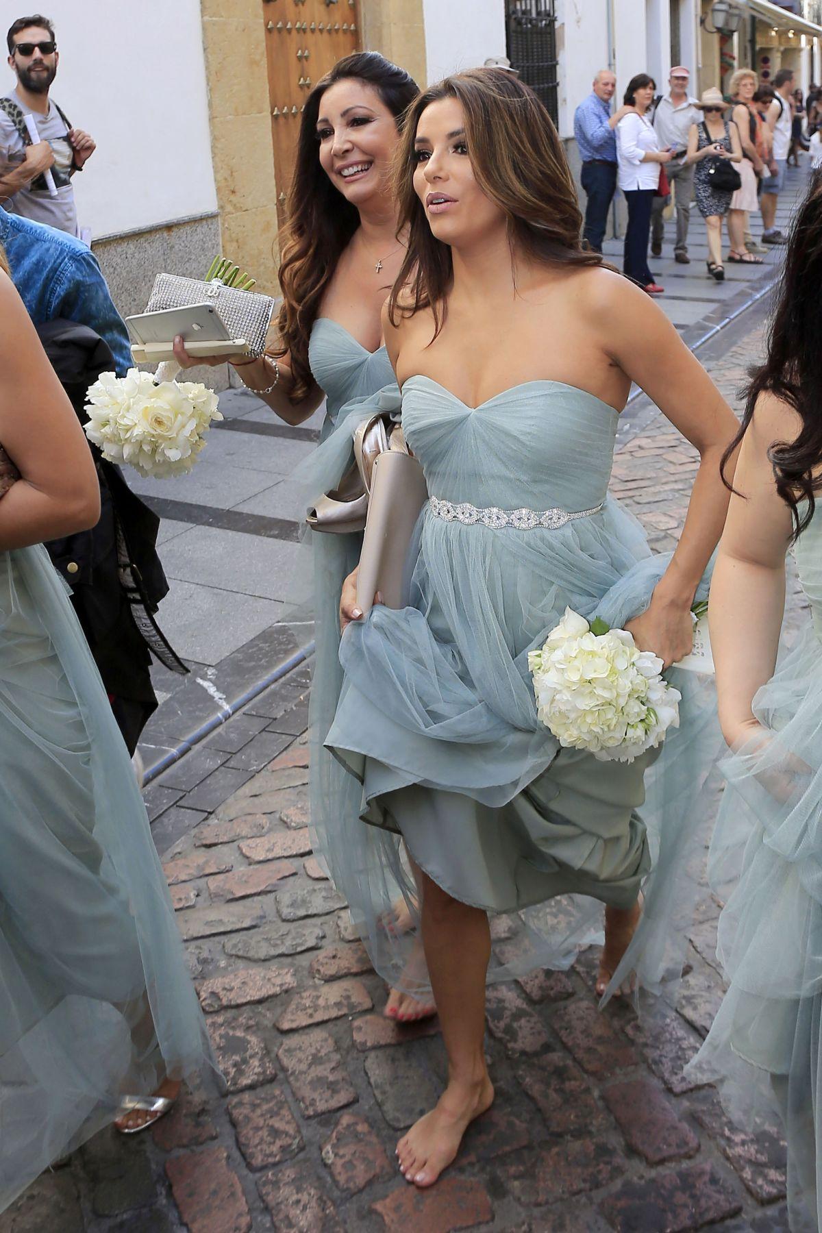 EVA LONGORIA at a Frie... Eva Longoria Wedding