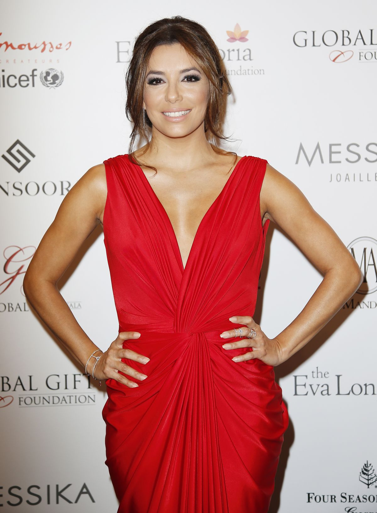 EVA LONGORIA at Global Gift Gala in Paris
