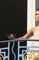 EVA LONGORIA Leaves Hotel Martinez in Cannes 05/16/2015