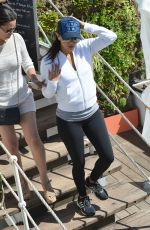 EVA LONGORIA Out and About in Cannes 05/15/2015