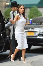 EVA LONGORIA Out and About in New York 05/11/2015