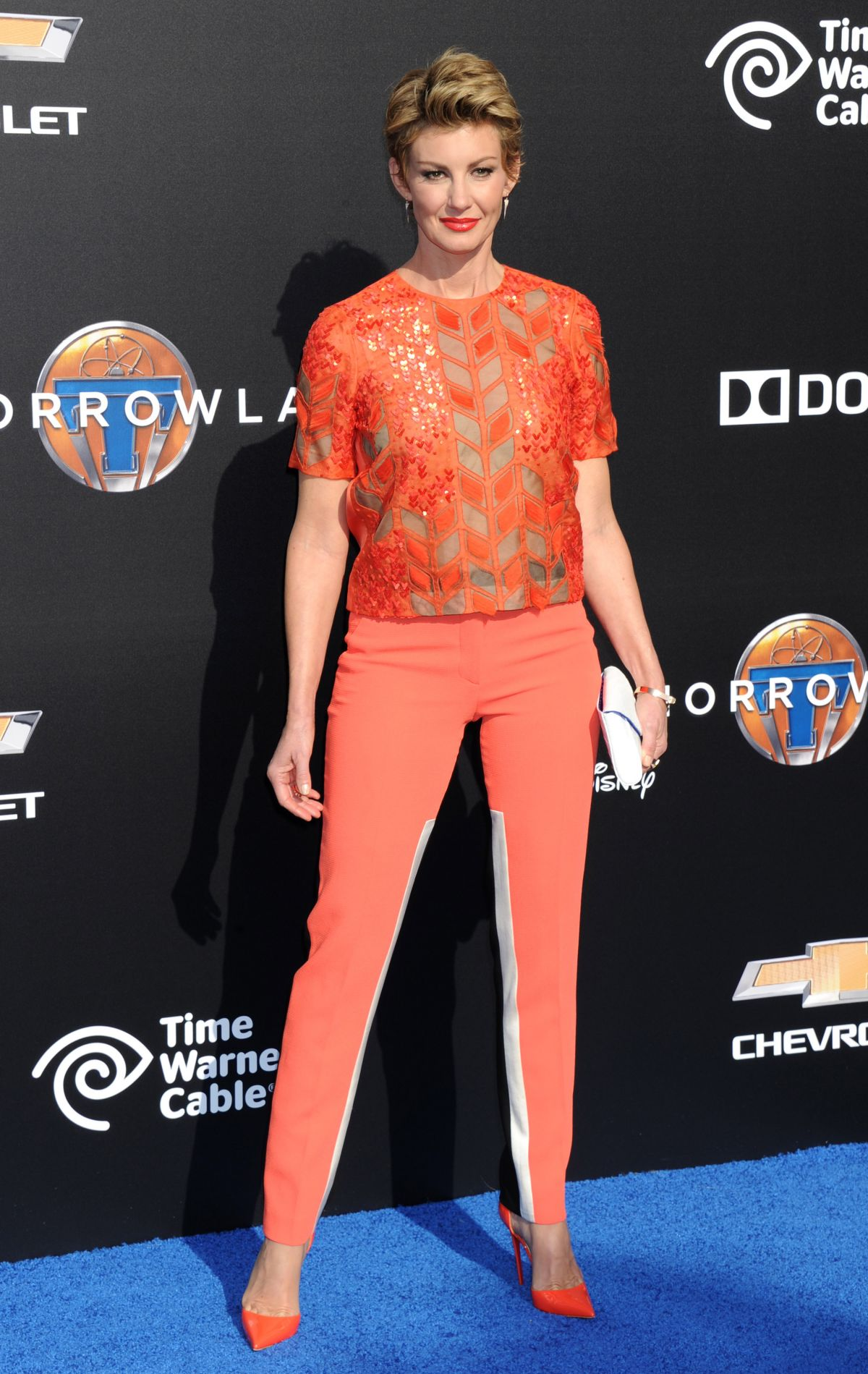 FAITH HILL at Tomorrowland Premiere in Anaheim