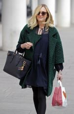 FEARNE COTTON Arrives at BBC Radio One Studios in London 05/07/2015