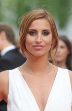 FERNE MCCANN at 2015 BAFTA Awards in London