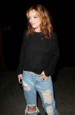 FRANCESCA EASTWOOD in Ripped Jeans Leaves Nice Guy