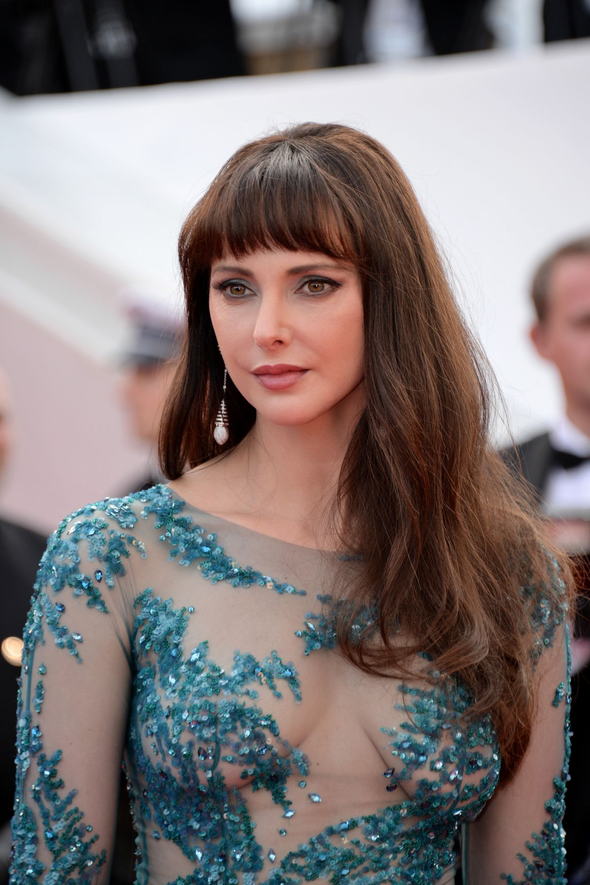 FREDERIQUE BEL at La Tete Haute Premiere at 2015 Cannes Film Festival