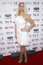 GENEVIEVE MORTON at Sports Illustrated Fight Weekend Party in Las Vegas
