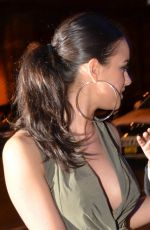 GEORGIA MAY FOOTE Arrives at Milton Club in Manchester 05/16/2015