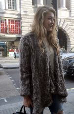 GIGI HADID Out and About in London 05/26/2015