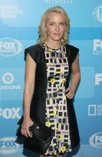 GILLIAN ANDERSON at Fox Network 2015 Programming Upfront in New York
