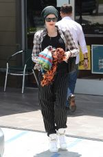 GWEN STEFANI Out and About in West Hollywood 05/30/2015