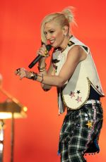 GWEN STEFANI Performs at Rock in Rio USA 2015 in Las Vegas