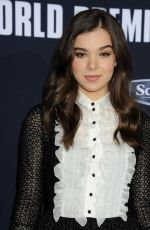 HAILEE STEINFELD at Pitch Perfect 2 Premiere in Los Angeles